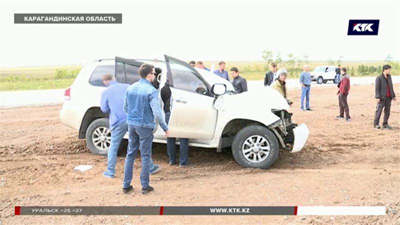 Двое погибли, четверо травмированы на трассе Караганда-Темиртау