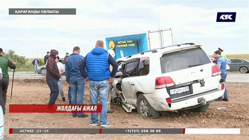 Қарағанды облысында жол апаты тағы өліммен аяқталды
