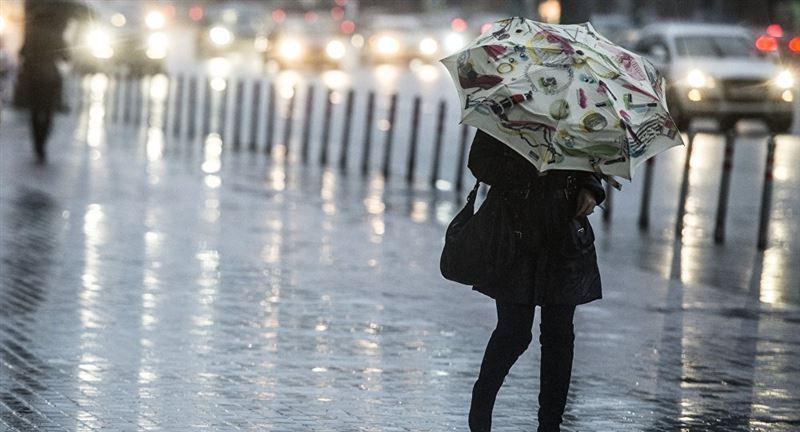 Снег и дожди ожидаются в ближайшие 3 дня в большинстве областей Казахстана