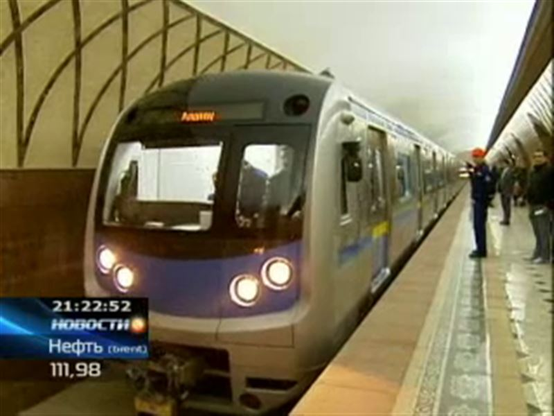 Алматинское метро откроют досрочно