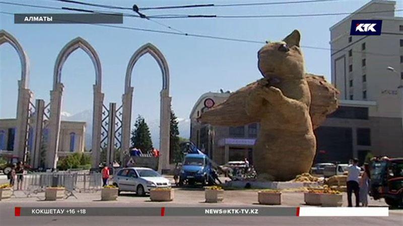 На улицах Алматы появятся улитки, а знаменитая белка может переехать