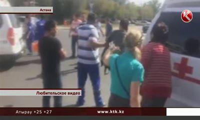ДВД Астаны: шофёр сбившей 4 детей иномарки был трезв