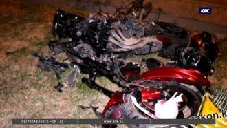 Байкер превысил скорость, потерял управление и погиб