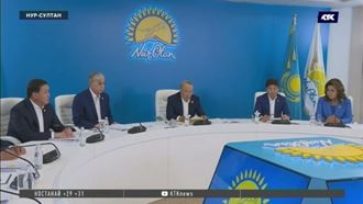 Председатель партии Nur Otan призвал блогеров к совместной работе