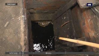 Грунтовые воды затопляют частные дома в Павлодаре