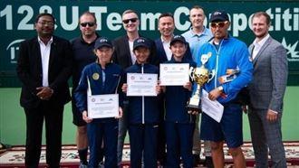 Теннисистки из Казахстана одержали победу на детском чемпионате Азии