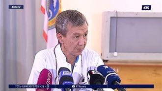 Медики рассказали о состоянии девочек, пострадавших на переезде