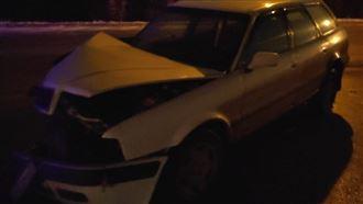 Полицейский без прав спровоцировал аварию в Уральске