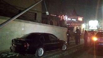 В Шымкенте несовершеннолетний автомойщик угнал и разбил BMW
