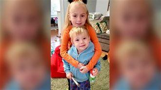 6-летняя девочка спасла семью от пожара
