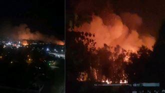 Сотрудники «Казахфильма» и каскадеры группы Nomad  Stunts помогали тушить пожар на киностудии