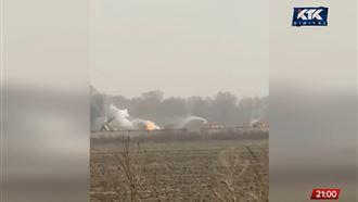 Авиакатастрофа под Алматы: есть погибшие