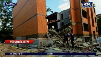 Павлодарскую стройку, где пострадали гастарбайтеры, должны были приостановить