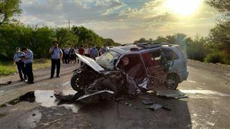 Семеро стали жертвами страшной аварии на Кульджинке