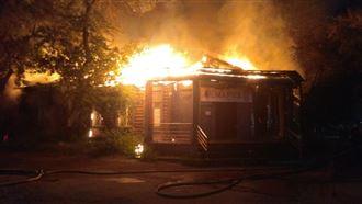 Швейный салон подожгли в Павлодаре