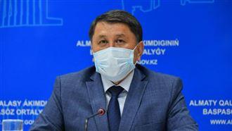 Бекшин спрогнозировал заболеваемость коронавирусом в Алматы на ближайшее время